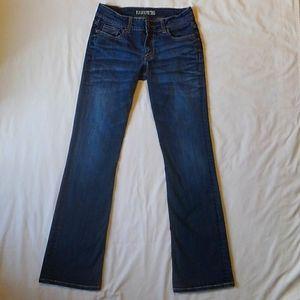 BKE Culture Bootcut Denim Blue Jeans